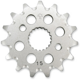 JT Sprockets JTF1310.15SC Front Self Cleaning Sprocket 15 Teeth 420 Pitch Natural Steel (12120664)