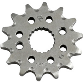 JT Sprockets JTF1310.14SC Front Self Cleaning Sprocket 14 Teeth 420 Pitch Natural Steel (12121208)