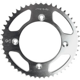 JT Sprockets JTA215.50 Rear Replacement Sprocket 50 Teeth 420 Pitch Natural C49 High Carbon Steel (12120116)