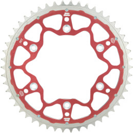 Moto-Master 7075 Racing MX Sprocket 48T Red Hard Outer Ring (12112108)