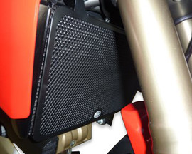 R&G Radiator Guards for Ducati Multistrada 1200/S '10-'14 (Not Grantourismo) (RAD0092BK)