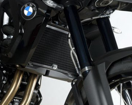 R&G Radiator Guards for BMW F650GS ‰Ûª08-, F800R ‰Ûª09-, F800S, F800ST and F800GT '13- (RAD0082BK)