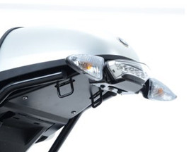 R&G Tail Tidy for BMW R Nine T '14- (swingarm mounted, for use with pillion seat/speedhump) (LP0160BK)