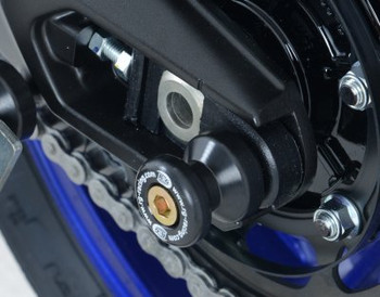 R&G Cotton Reels (Offset Style) for Yamaha MT-09 (FZ-09) '13-'16, XSR900 '16- & Tracer 900 GT '18- (CR0048BK)