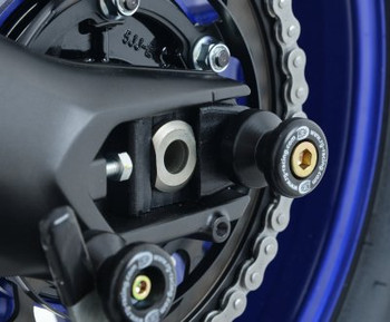 R&G Cotton Reels (Offset Style) for Yamaha MT-09 (FZ-09) '13-'16, XSR900 '16- & Tracer 900 GT '18-