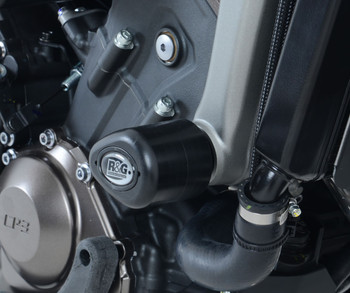 R&G Crash Protectors - Aero Style for Yamaha MT-09, FZ-09, XSR900 & Tracer 900 GT (CP0354BL)