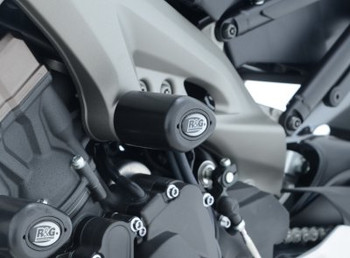 R&G Crash Protectors - Aero Style for Yamaha MT-09 , FZ-09, SP '18- , XSR900 '16- & Tracer 900 GT '18-- MID MOUNT (CP0355BL)