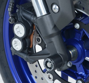 R&G Fork Protectors for Yamaha MT-09 '13-, SP '18-, Sport Tracker '15-, Street Rally '15-, MT-09 Tracer '15-, XSR900 '16- & Tracer 900GT '18- (FP0149BK)