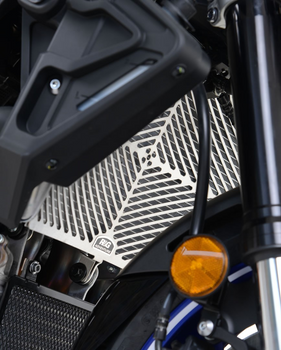 R&G Stainless Steel Radiator Guard for the Yamaha YZF-R1/R1M 2015- and Yamaha MT-10 '16-