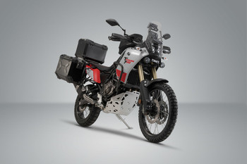 SW-MOTECH TRAX Adventure Luggage Set for Yamaha Tenere 700 19- Silver (ADV.06.799.75000/S)