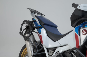 SW-MOTECH TRAX ION Aluminium Side Case System for HONDA CRF1100L Africa Twin Adventure Sports (Silver)