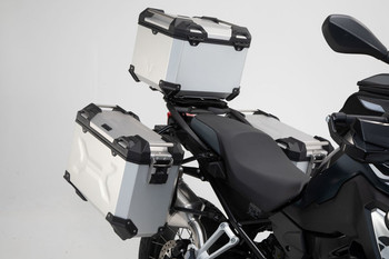 SW-MOTECH TRAX Adventure Set Luggae For BMW F750GS/850GS (Silver)