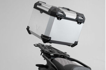 SW-MOTECH TRAX ADV Top Case System for BMW F850GS (Silver) (GPT.07.897.70000/S)