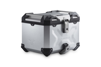 SW-MOTECH TRAX ADV Top Case System for BMW F750GS/850GS (Silver)