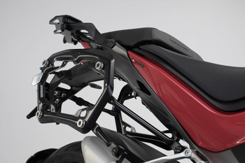 SW-MOTECH TRAX ADV Side Case System for Ducati Multistrada 1260/D-Air/Pikes Peak/S (black)