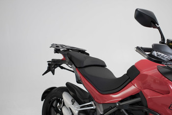 SW-MOTECH TRAX ADV Side Case System for Ducati Multistrada 1260/D-Air/Pikes Peak/S (silver)