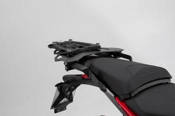 SW-MOTECH TRAX ADV Top Case System for Ducati Multistrada 1260/D-Air/Pikes Peak/S (Silver)