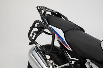 SW-MOTECH TRAX ADV Side Case System for BMW R1250RS (Silver)