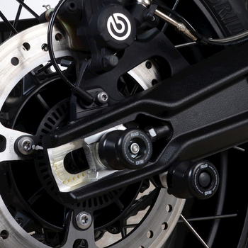 R&G Cotton Reels for the Triumph Tiger 900 GT/ Rally '20- (CR0082BK)