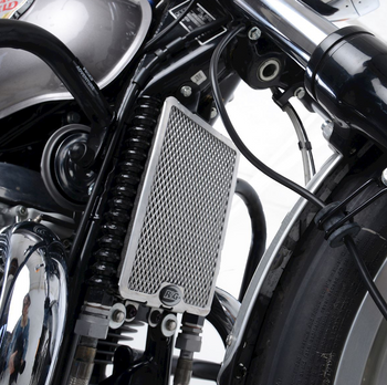 R&G Oil Cooler Guard for Royal Enfield Interceptor 650 '19- & Continental GT 650 '19-
