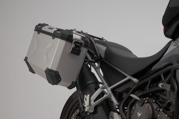SW-Motech Adventure Luggage System Triumph Tiger 900 GT/Rally Silver