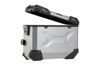 SW-Motech Adventure side case system Triumph Tiger 900 GT/Rally Silver