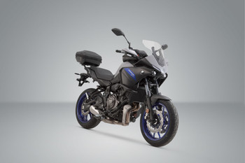 SW-MOTECH Trax ADV top case system Tracer 700 Silver