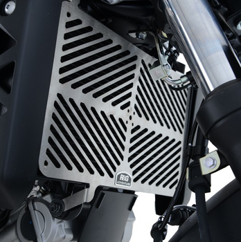 R&G Stainless Steel Radiator Guards for the Suzuki SV650 '16- & SV650X '18- models