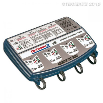 Optimate 3 x 4 Battery Chargers (M79-TM454BS)