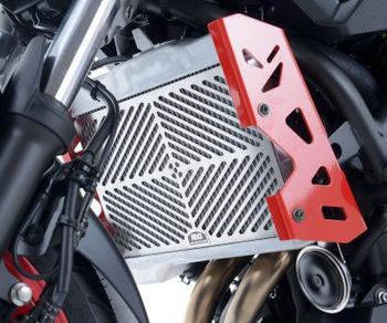 R&G Stainless Steel Radiator Guard For Yamaha MT07 '14-, MT-07 Motocage '15-, XSR700 '16- & Tracer 700 '16-