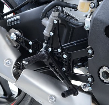 R&G Adjustable Rearsets for Yamaha YZF-R1/R1M '15-