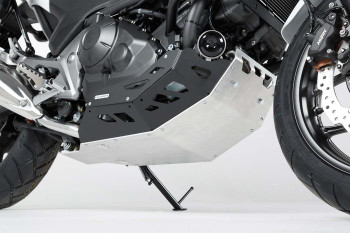 SW-Motech Engine Guard Honda NC700 / NC750 with DCT Black/Silver (MSS.01.151.10100)
