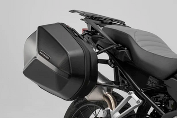 SW-Motech AERO ABS side case system ABS/600D HCF Polyester Kawasaki Versys 650 (15-)
