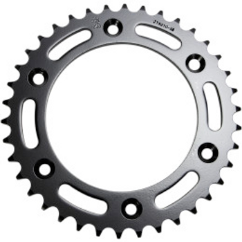 JT Sprockets JTR210.40 Rear Replacement Sprocket 38 Teeth 520 Pitch Natural C49 High Carbon Steel (12100630)