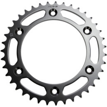 JT Sprockets JTR210.40 Rear Replacement Sprocket 39 Teeth 520 Pitch Natural C49 High Carbon Steel (12100631)