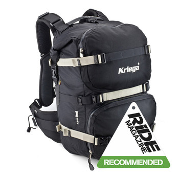 KRIEGA R30 Backpack RiDE Recommended