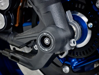 Evotech Performance Front Spindle Bobbins - Yamaha Tracer 900 GT (2018+)
