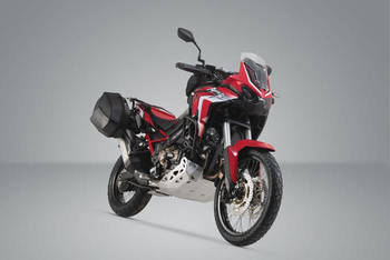 SW-Motech AERO ABS side case system 2x25 litre Honda CRF1100L Africa Twin (19-)