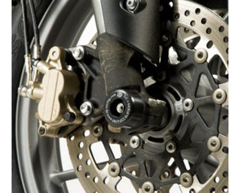 R&G Fork Protectors for Triumph Tiger 800 & 800 XC '11-, 800 XRX/ XCX '15- & XCA '18- (FP0099BK)