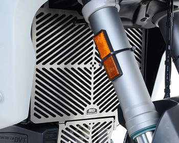 R&G Stainless Steel Radiator Guard for the Ducati Multistrada 1200/S '15- and Multistrada 1260 '18- (SRG0041SS)