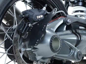 R&G Tail Tidy BMW R NineT '14- (swingarm mounted, for use with pillion seat/speedhump)