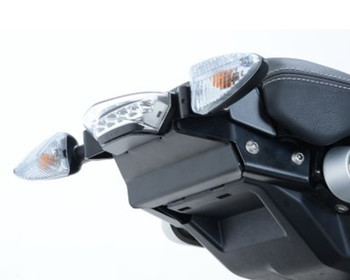 R&G Tail Tidy for BMW R NineT '14- (swingarm mounted, for use without pillion seat/speedhump and subframe) (LP0161BK)