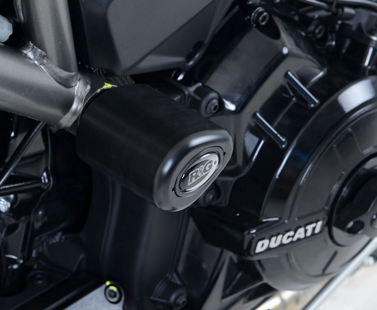 R&G Crash Protectors - Aero Style for Ducati XDiavel and XDiavel S '16- (CP0401BL)