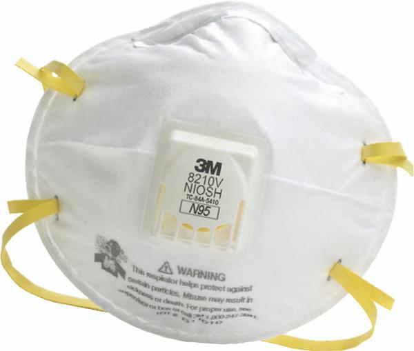Respirator Ea 8210v box Particulate 10