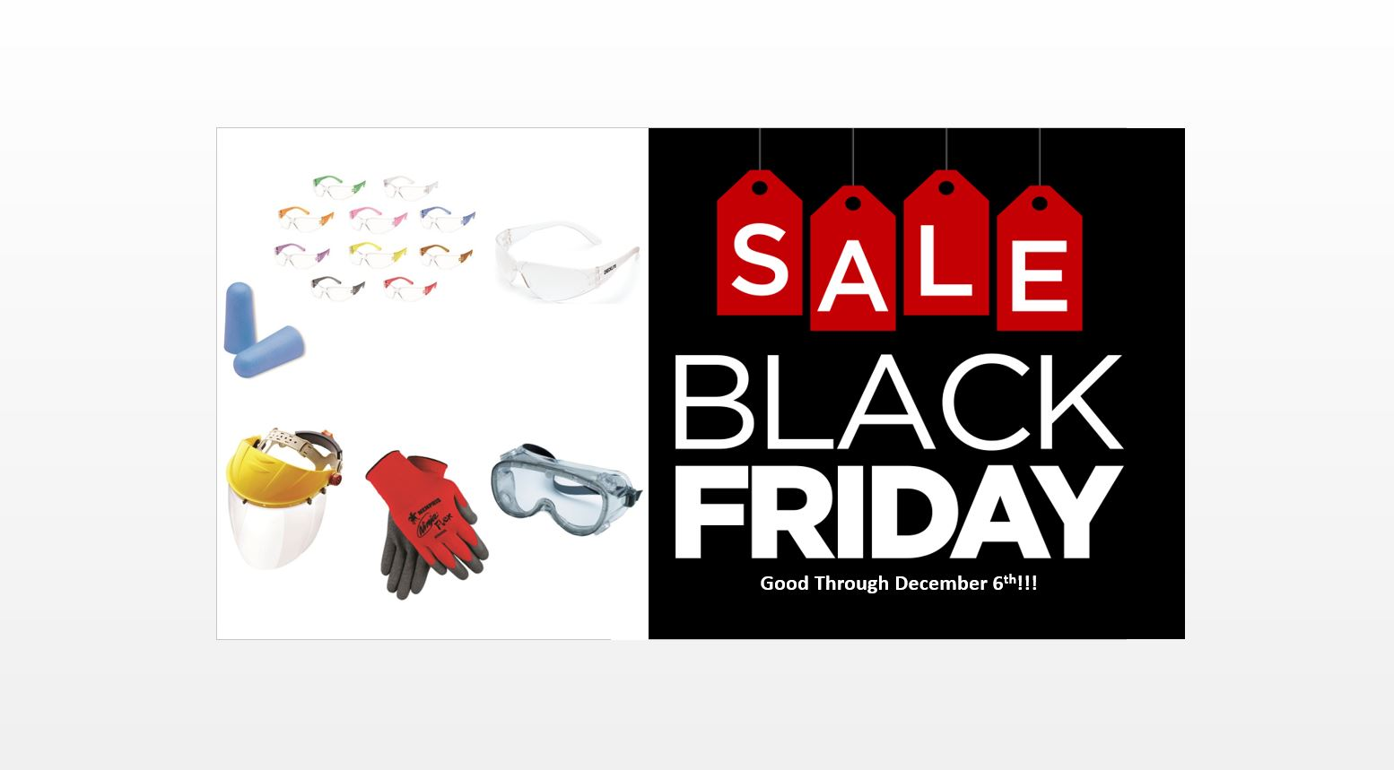 Black Friday Sale on PPE For Students!
