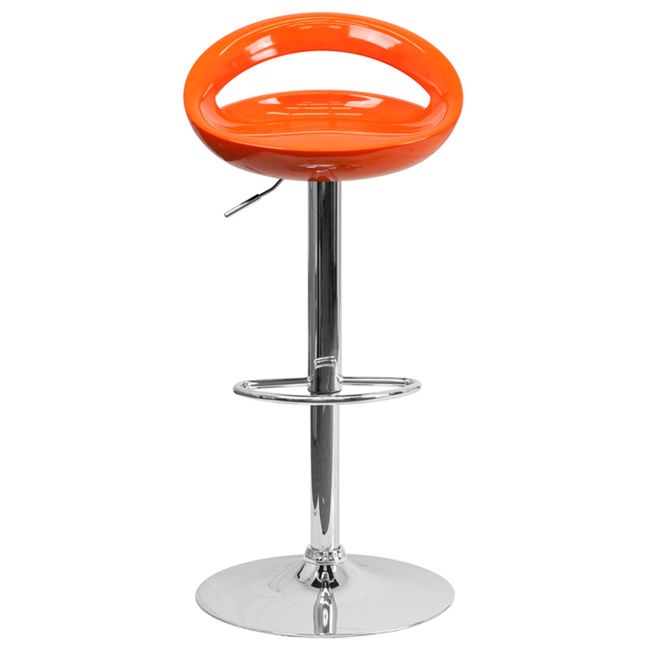 Plastic Adjustable Height Barstools