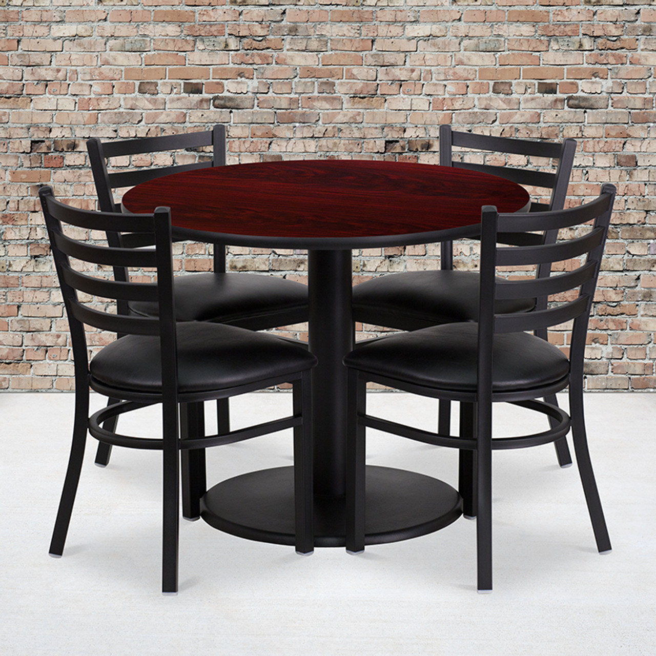 Laminate Restaurant Table and Chair Sets
