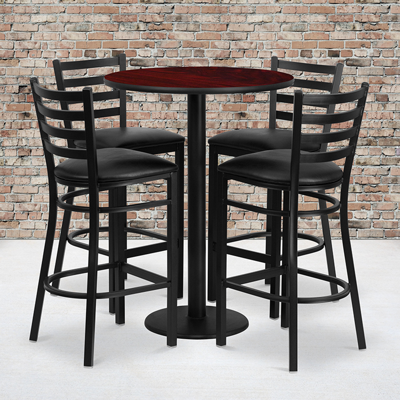 Laminate Restaurant Bar Table and Stool Sets