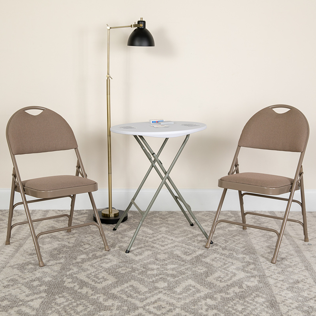 Large Metal Folding Chairs