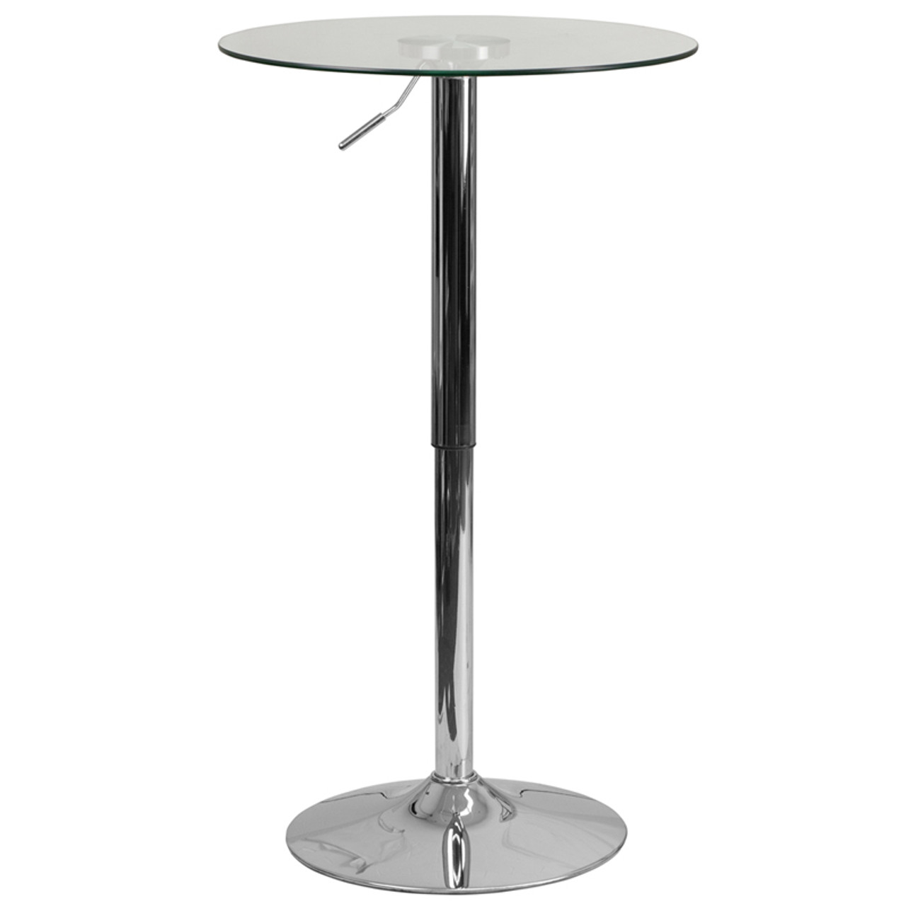 Adjustable Glass Tables